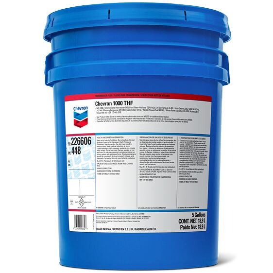 Chevron 1000 THF Pail