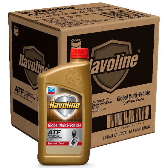 Havoline Global Multi-Vehicle ATF Quart Case