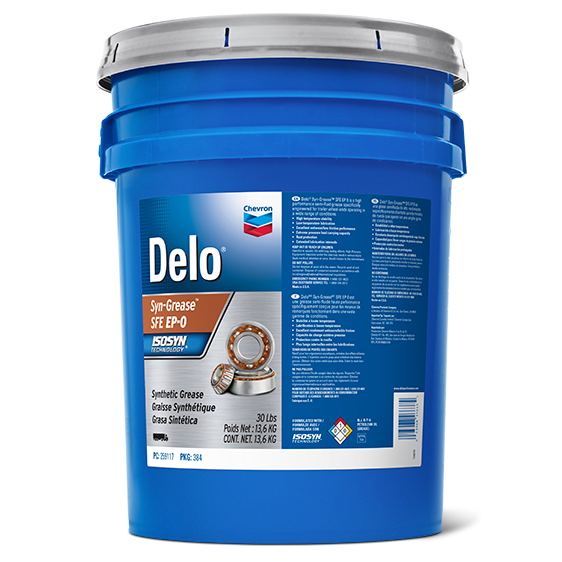 Delo Synthetic Grease SFE EP0 Pail