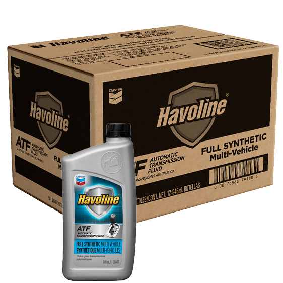 Havoline Synthetic Multivehicle ATF Quart Case