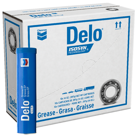 Delo Grease EP 2 Tube Case