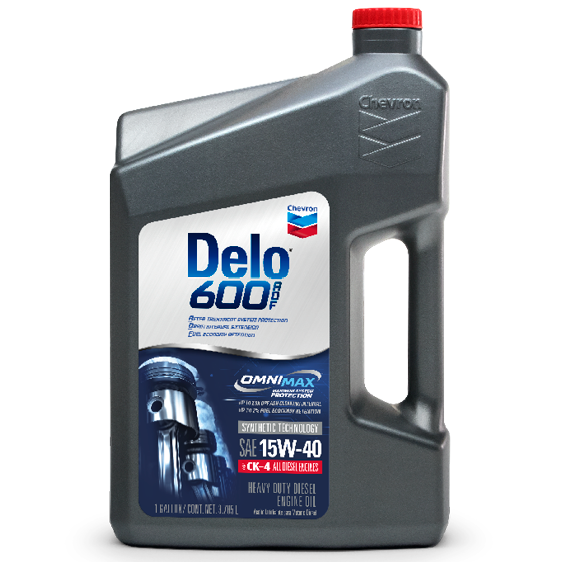 Delo® 600 ADF SAE 15W-40 Gallon Case